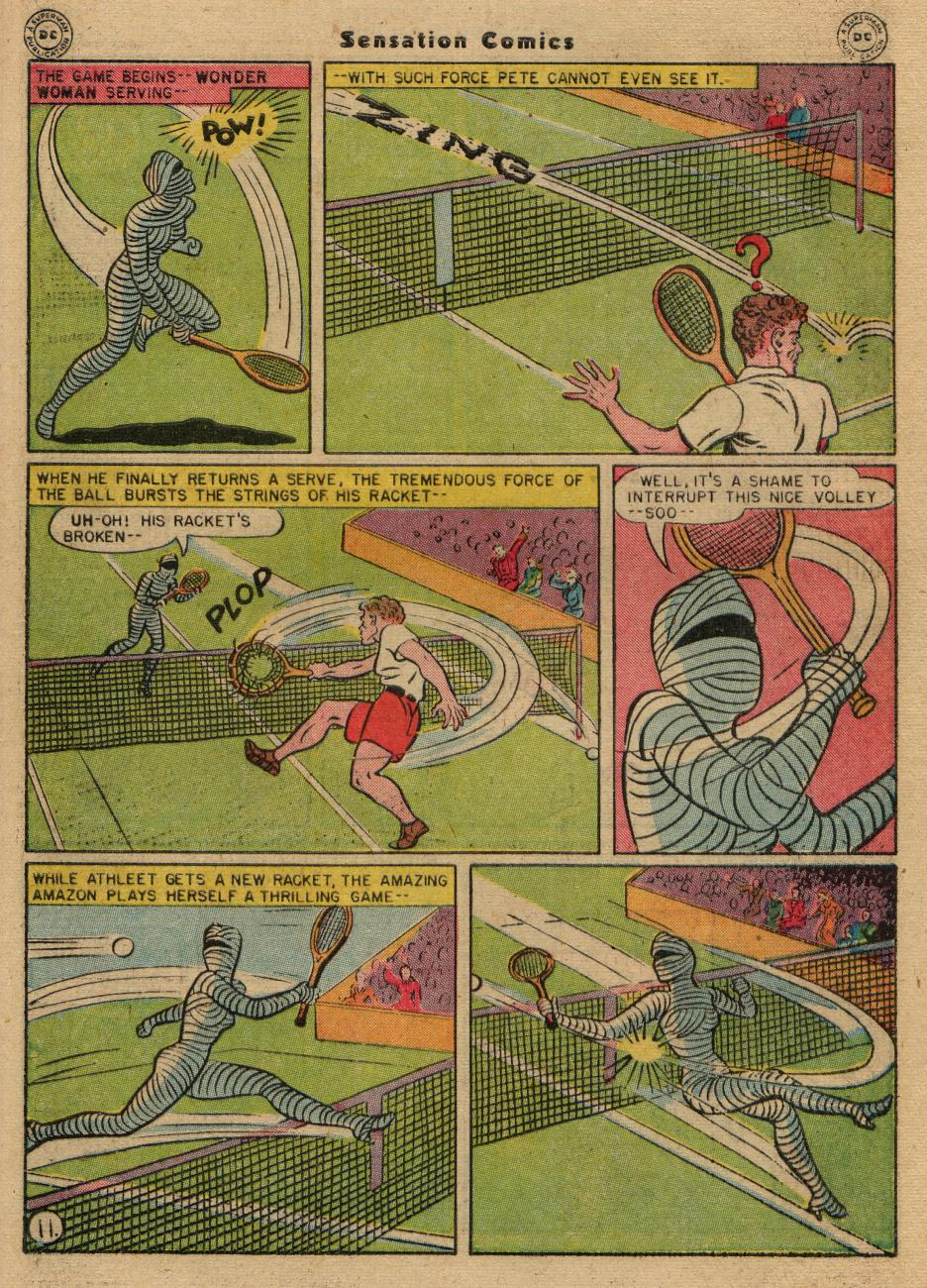 Read online Sensation (Mystery) Comics comic -  Issue #61 - 13