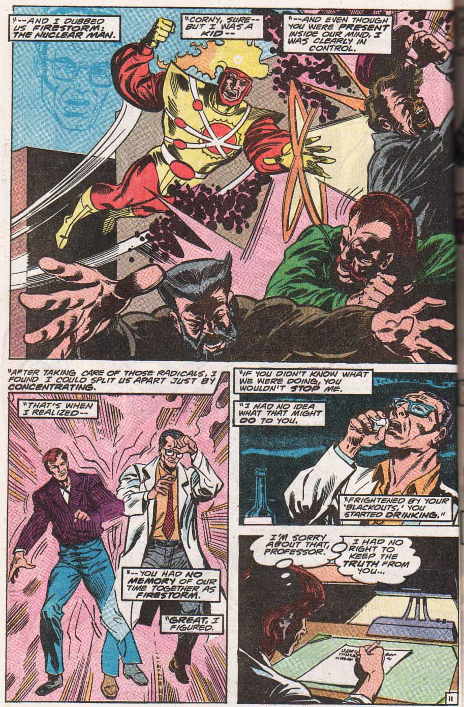 Firestorm, the Nuclear Man Issue #100 #36 - English 12