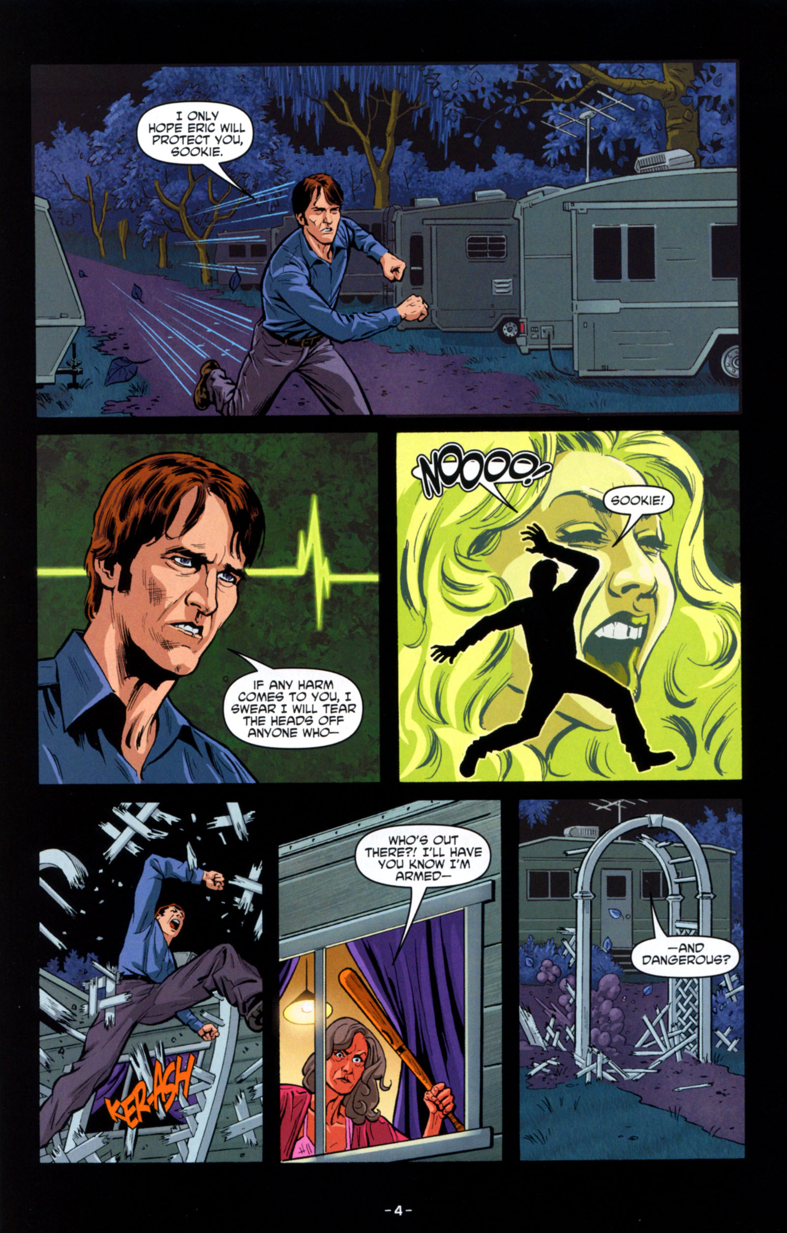 Read online True Blood: Tainted Love comic -  Issue #6 - 6