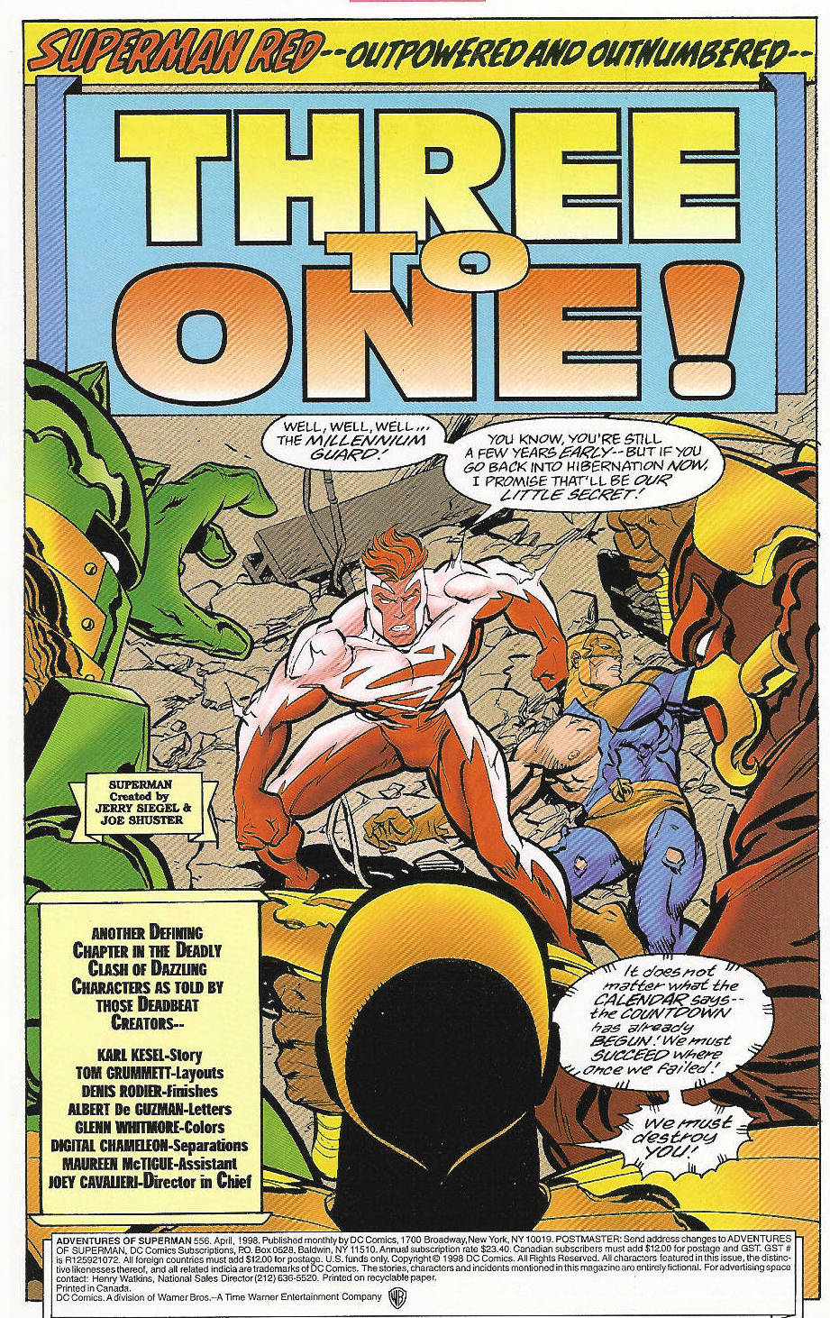 Read online Adventures of Superman (1987) comic -  Issue #556 - 2
