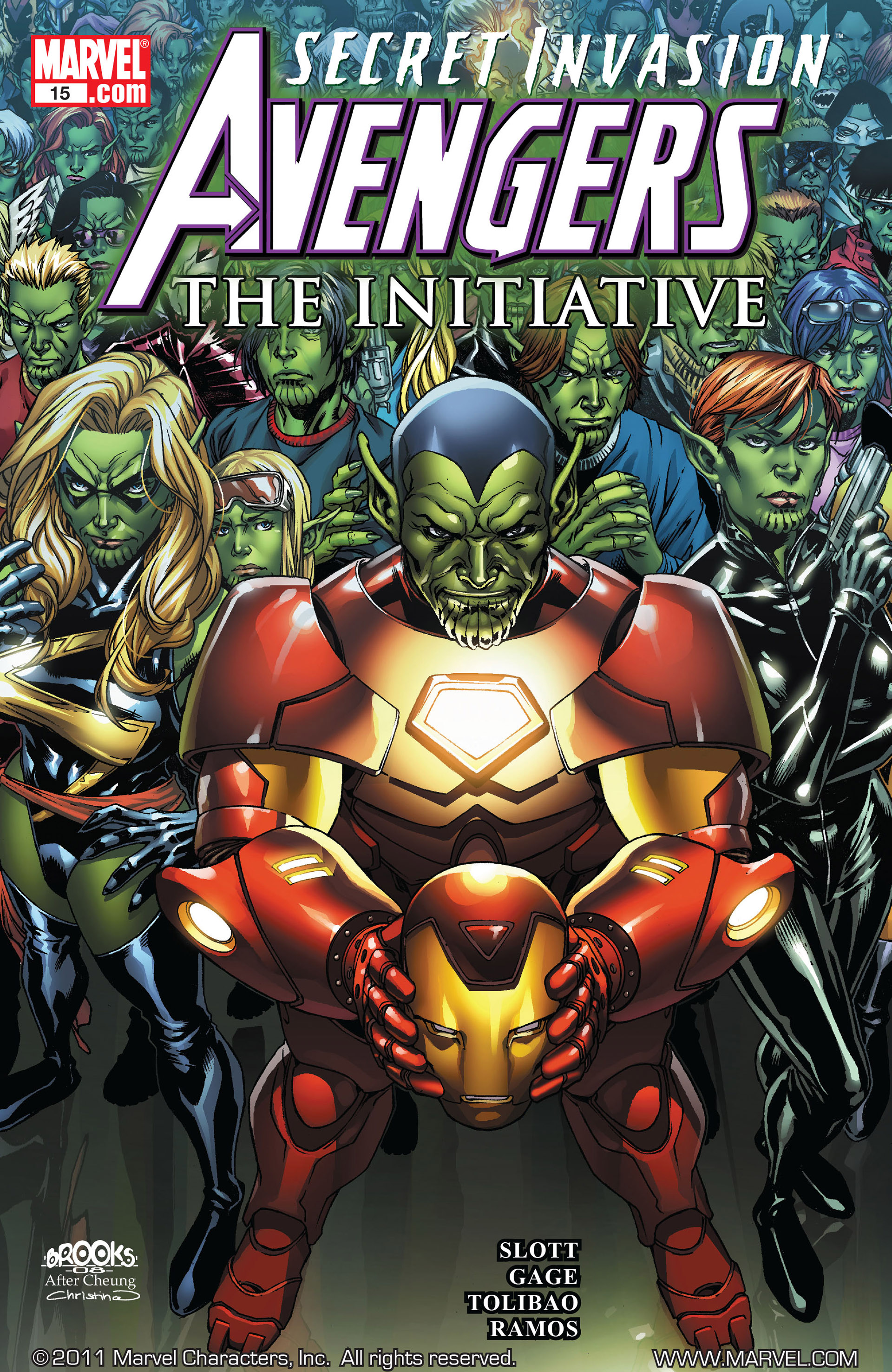 Avengers: The Initiative 15 Page 1