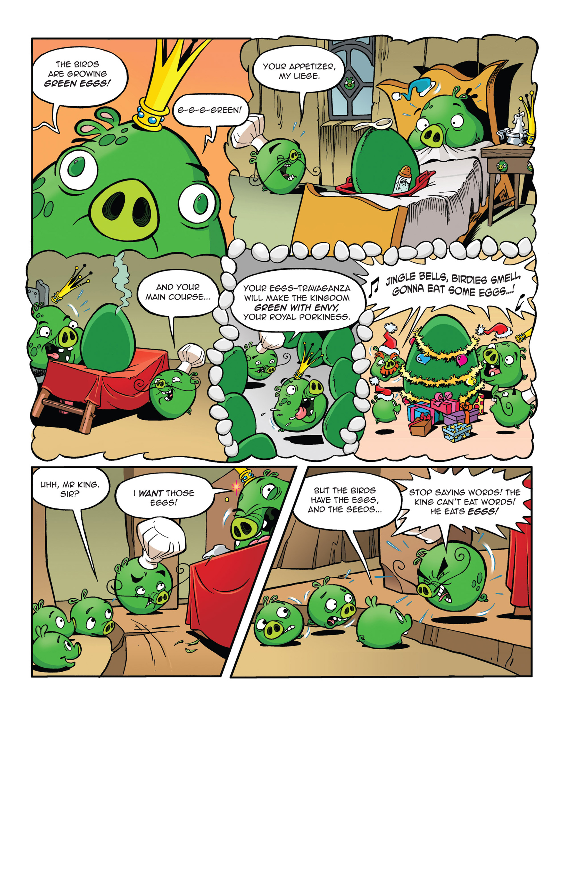 Read online Angry Birds Comics (2014) comic -  Issue #5 - 7
