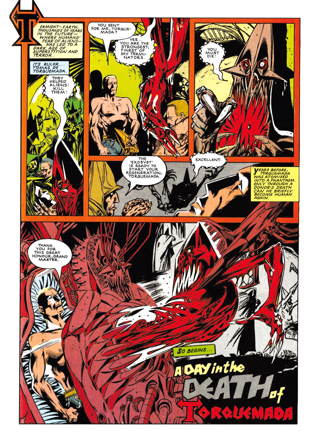 Read online Nemesis The Warlock comic -  Issue # TPB Deviant Edition - 96