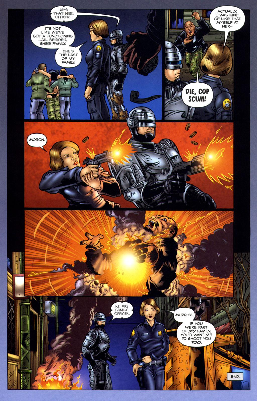 Read online Robocop: Wild Child comic -  Issue # Full - 16