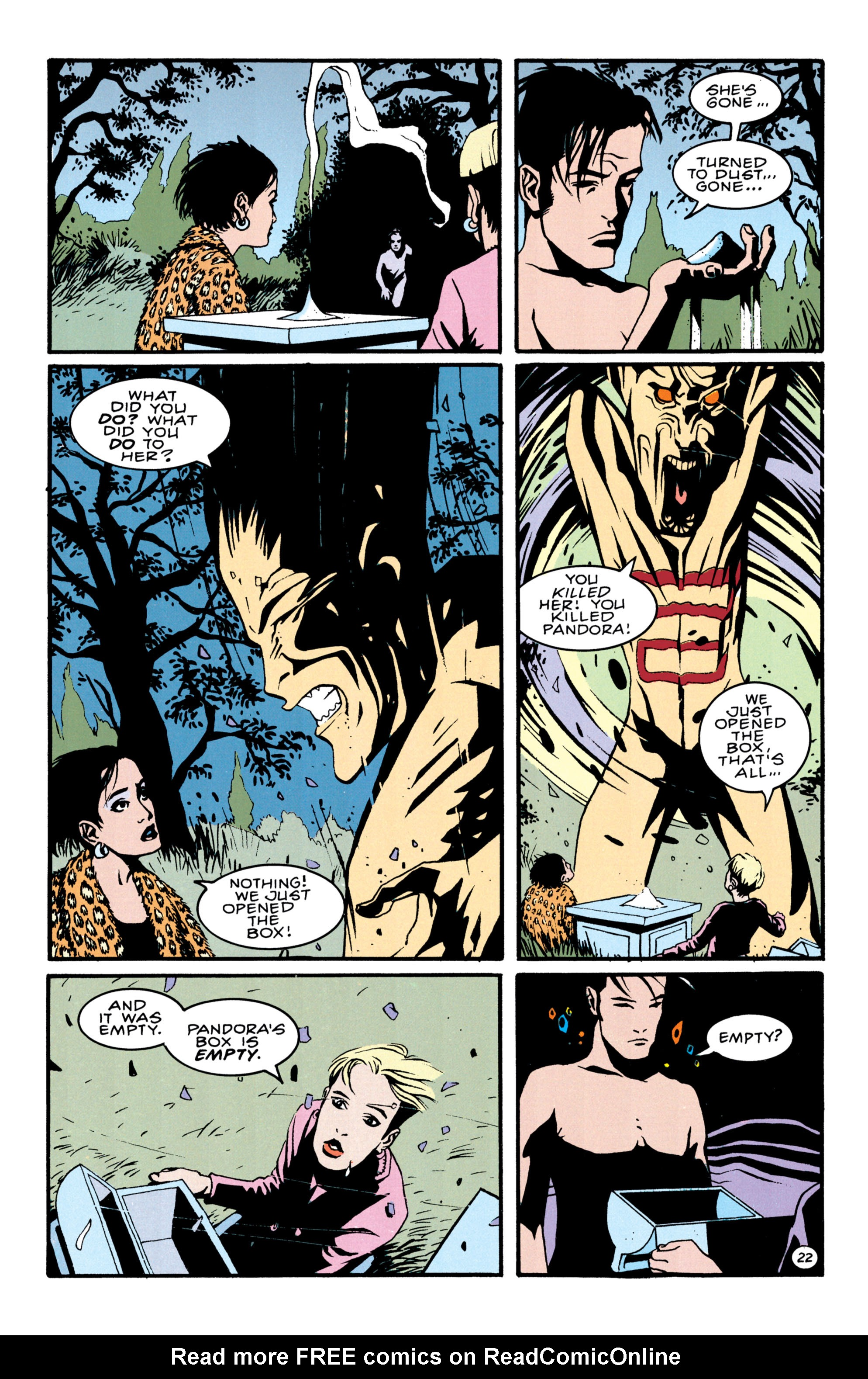 Read online Shade, the Changing Man comic -  Issue #41 - 23