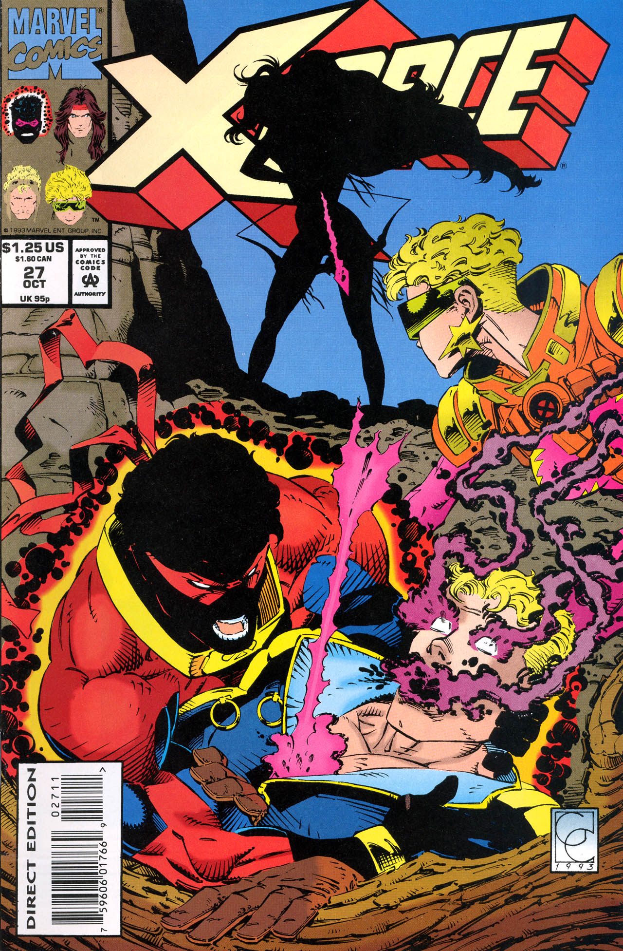 Read online X-Force (1991) comic -  Issue #27 - 1