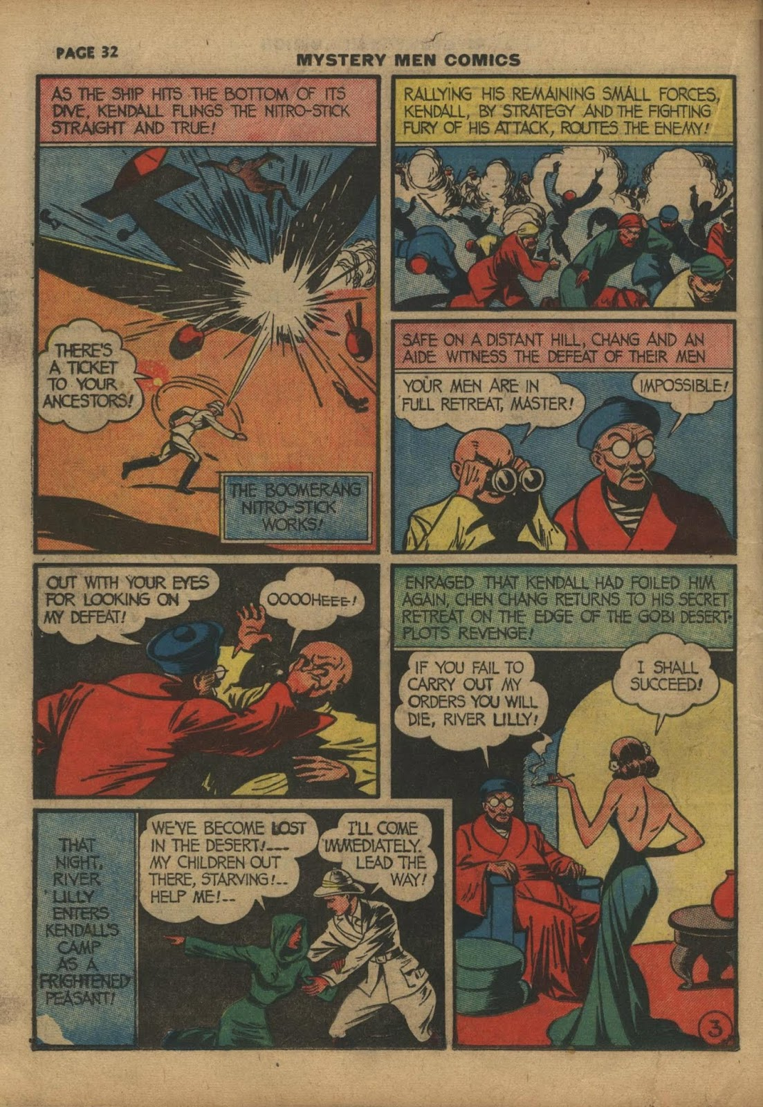 Mystery Men Comics issue 10 - Page 34