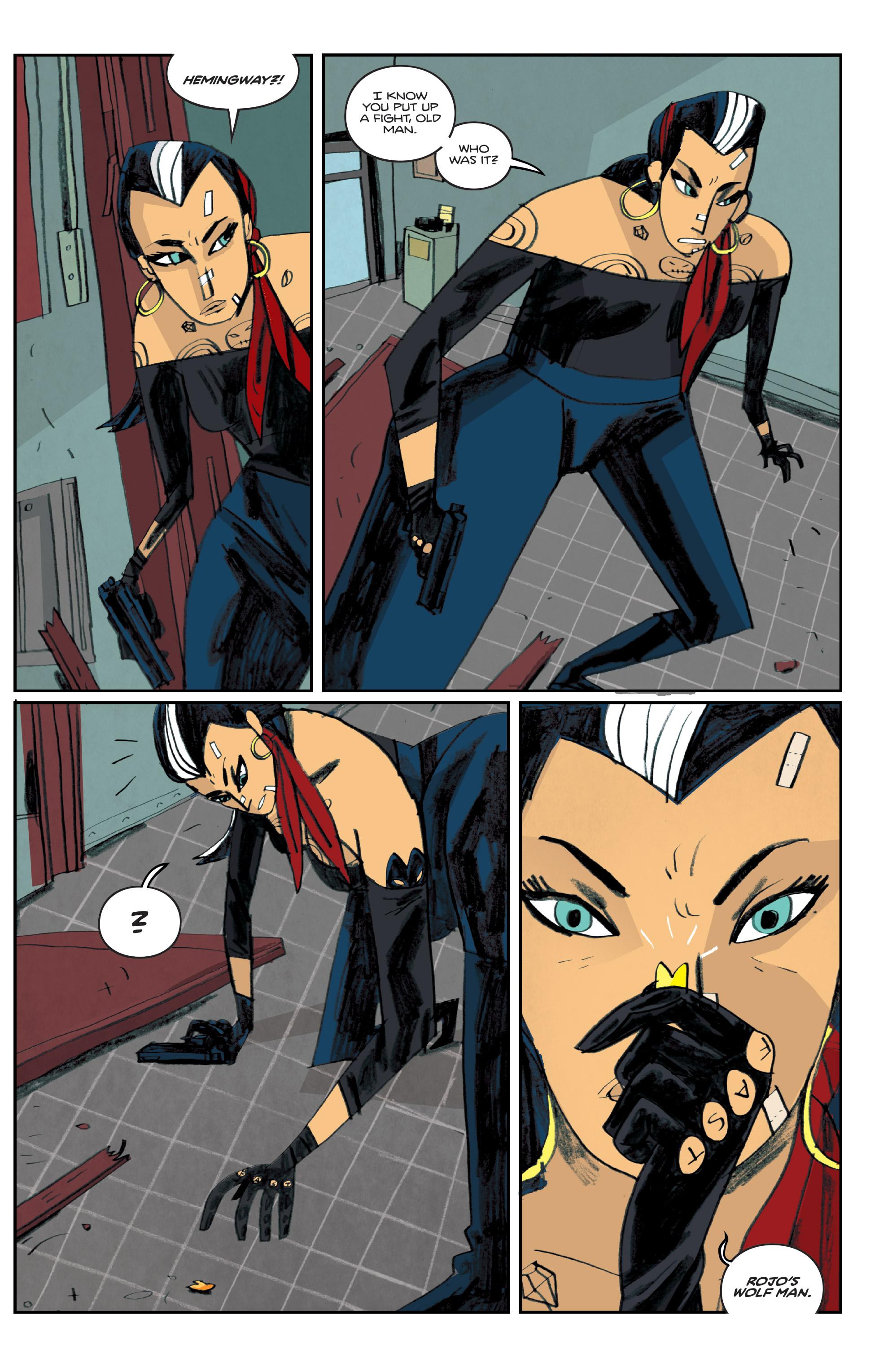 Read online Helena Crash comic -  Issue #4 - 4