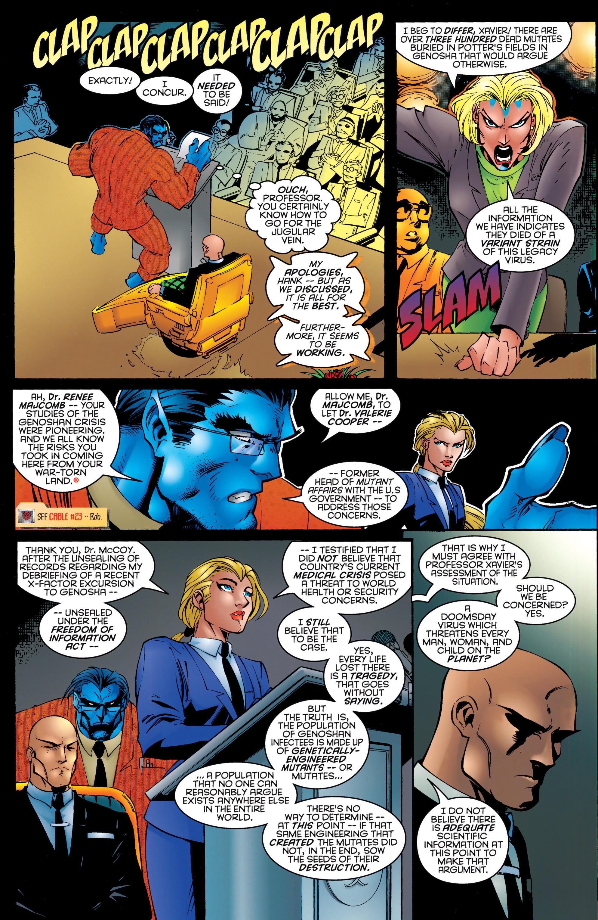 Read online Uncanny X-Men (1963) comic -  Issue #326 - 7