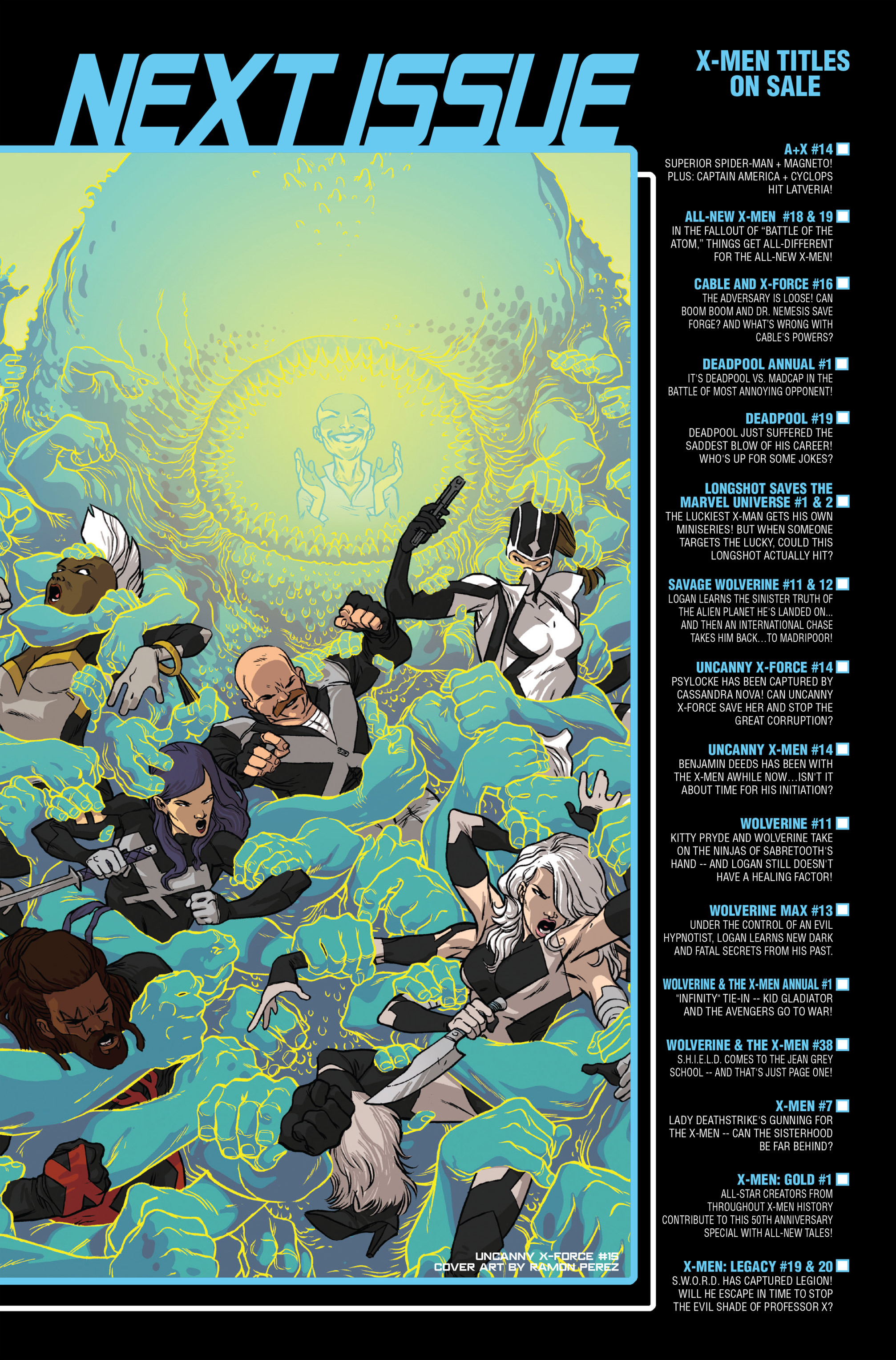 Read online Uncanny X-Force (2013) comic -  Issue #14 - 23
