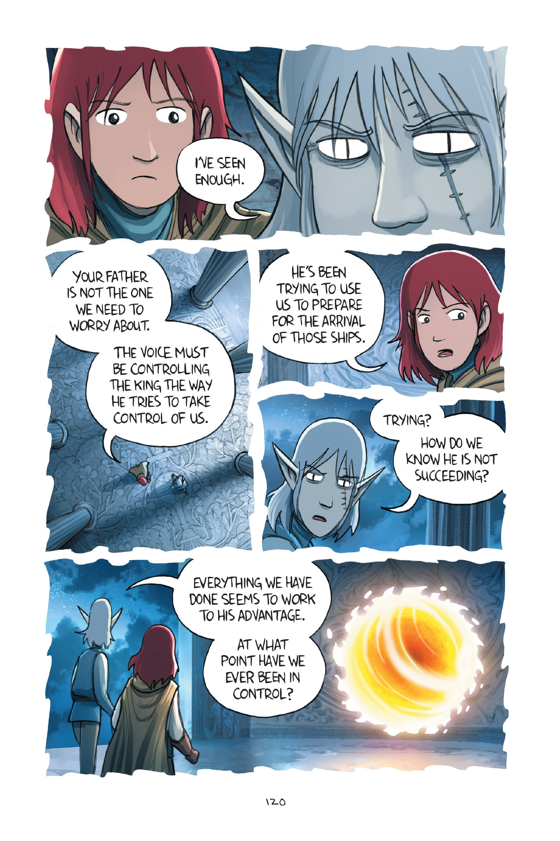 Read online Amulet comic -  Issue #7 - 120