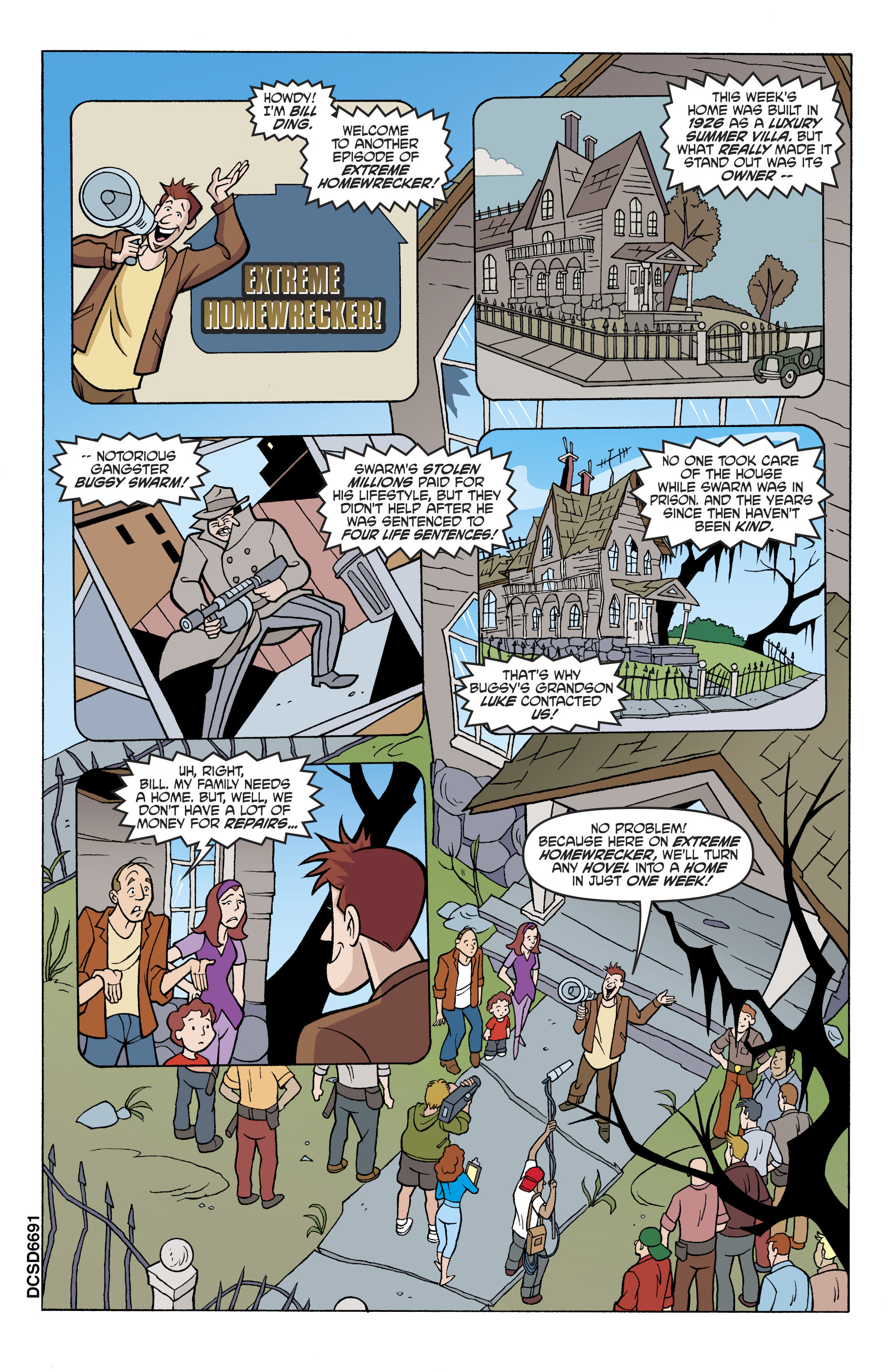 Read online Scooby-Doo: Where Are You? comic -  Issue #81 - 14