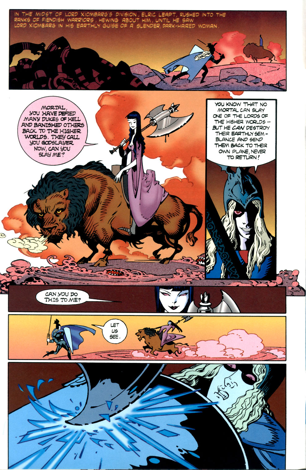 Read online Elric: Stormbringer comic -  Issue #7 - 6