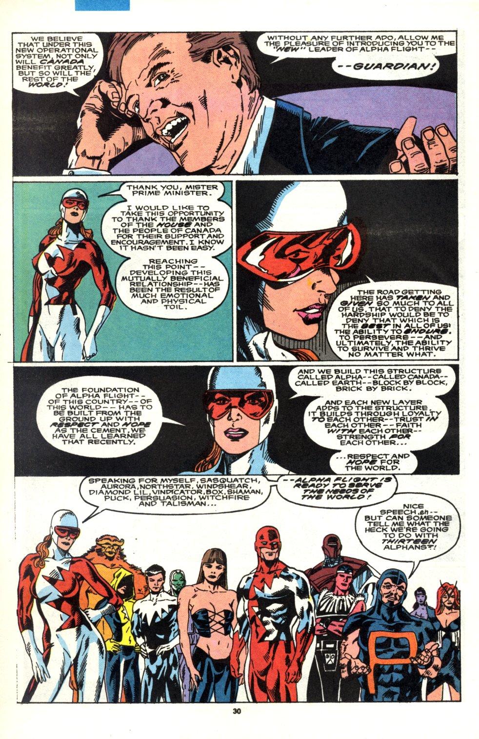 Read online Alpha Flight (1983) comic -  Issue #90 - 25