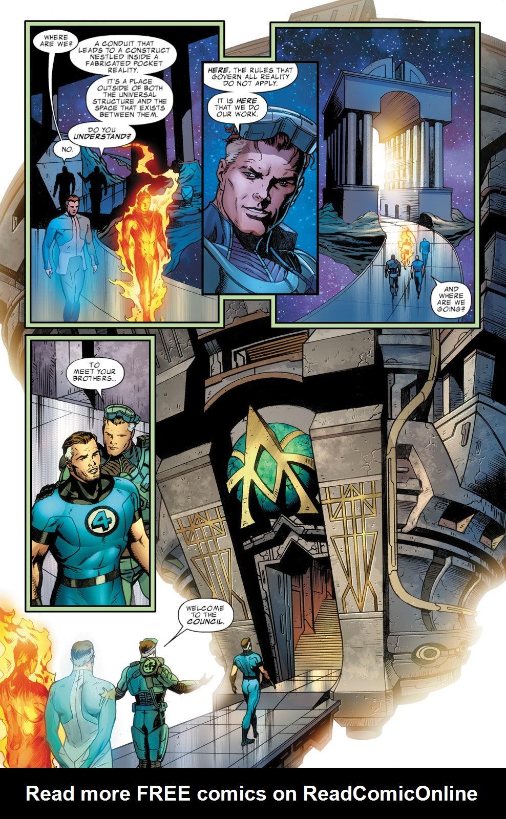 Read online Fantastic Four: Season One comic -  Issue # TPB - 127