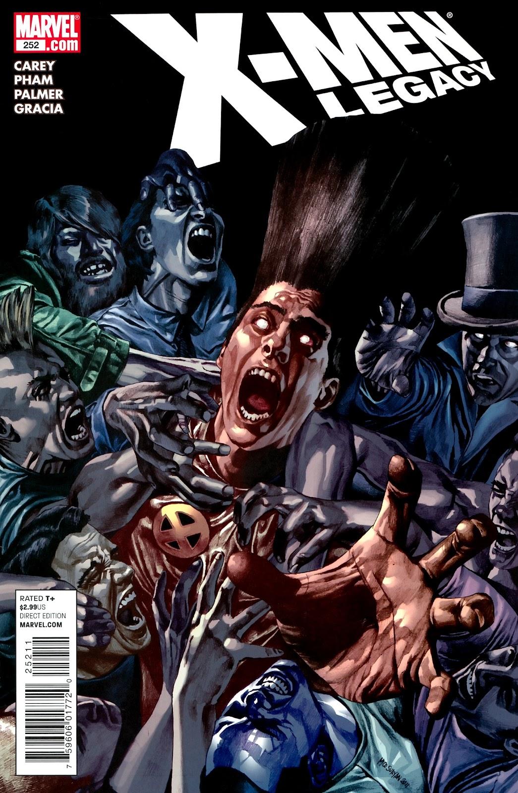 X-Men Legacy (2008) 252 Page 1