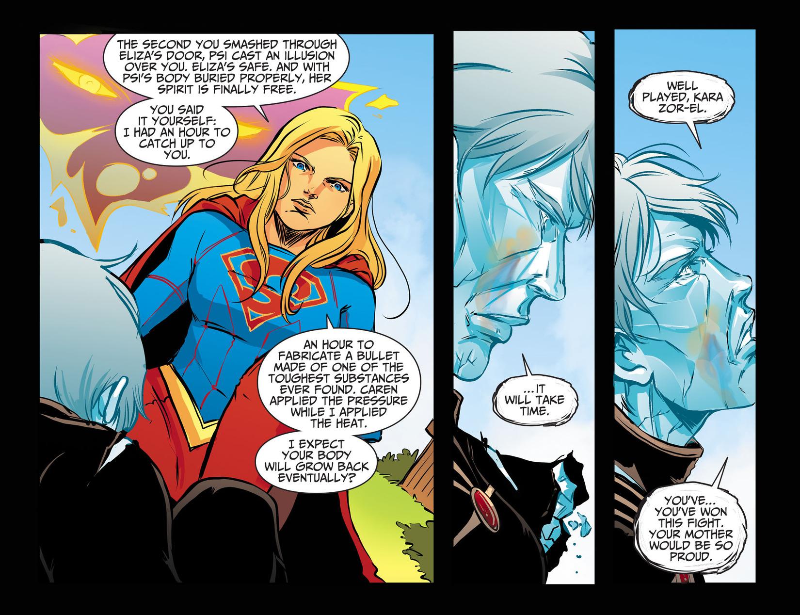 Read online Adventures of Supergirl comic -  Issue #13 - 16