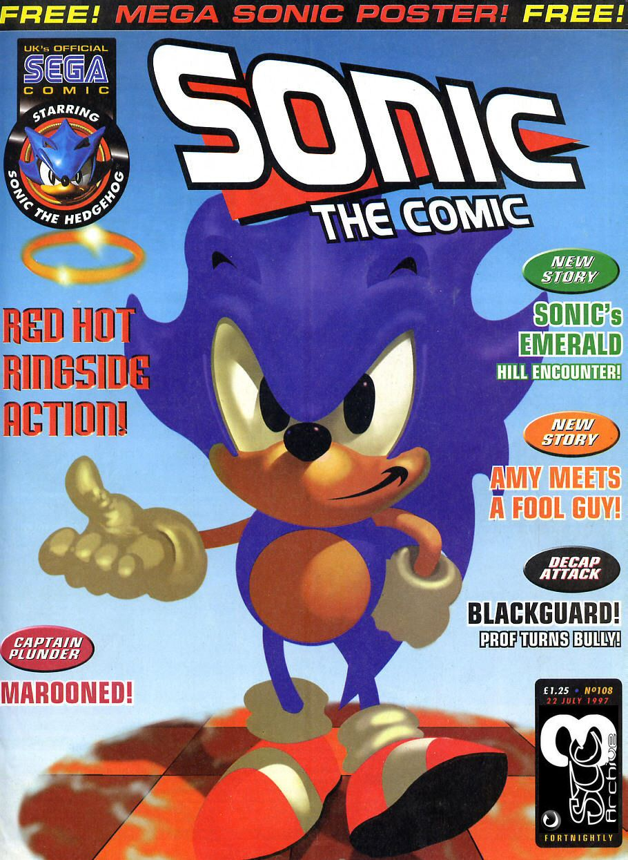 Read online Sonic the Comic comic -  Issue #108 - 1