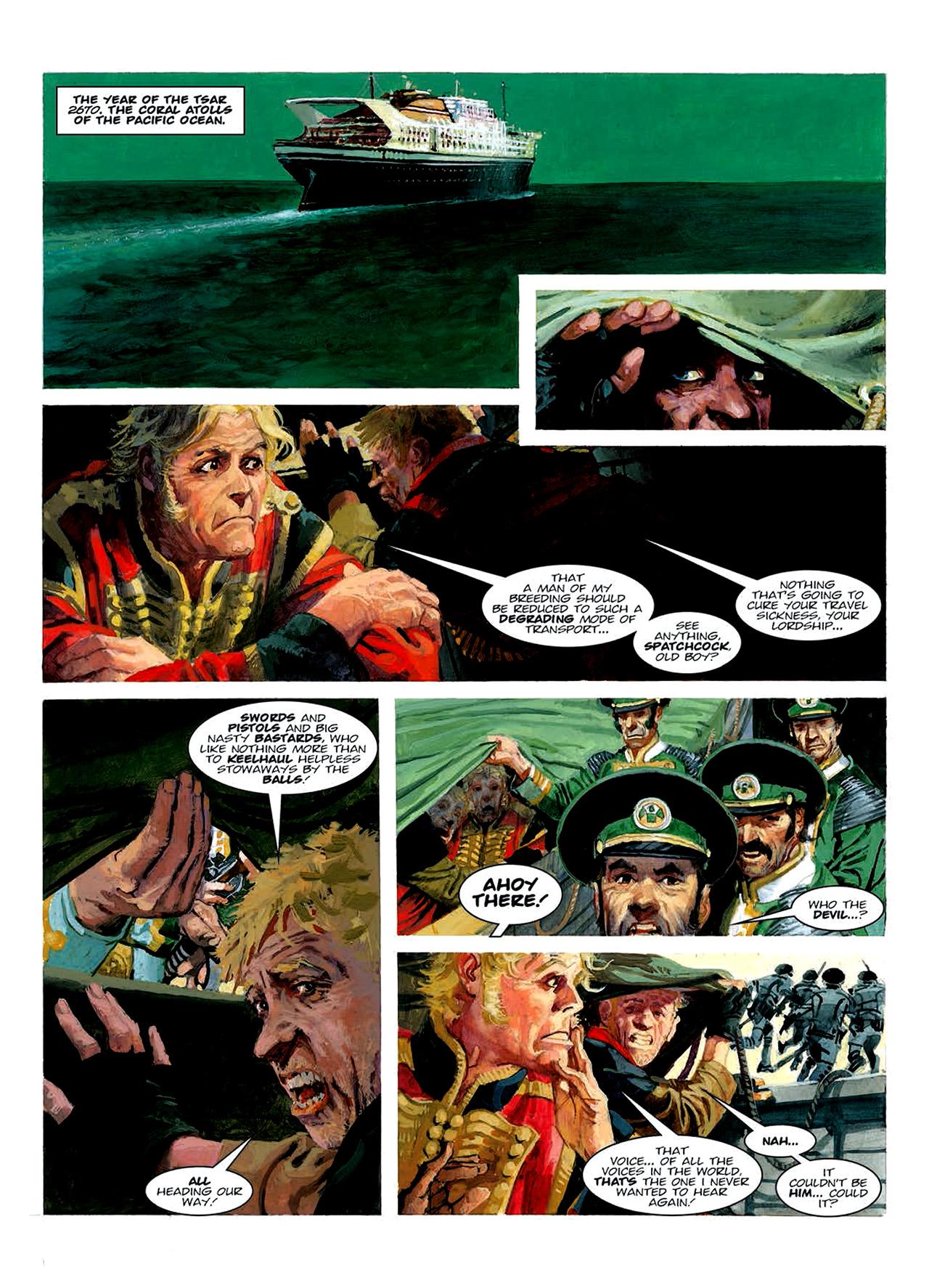 Read online Nikolai Dante comic -  Issue # TPB 6 - 134