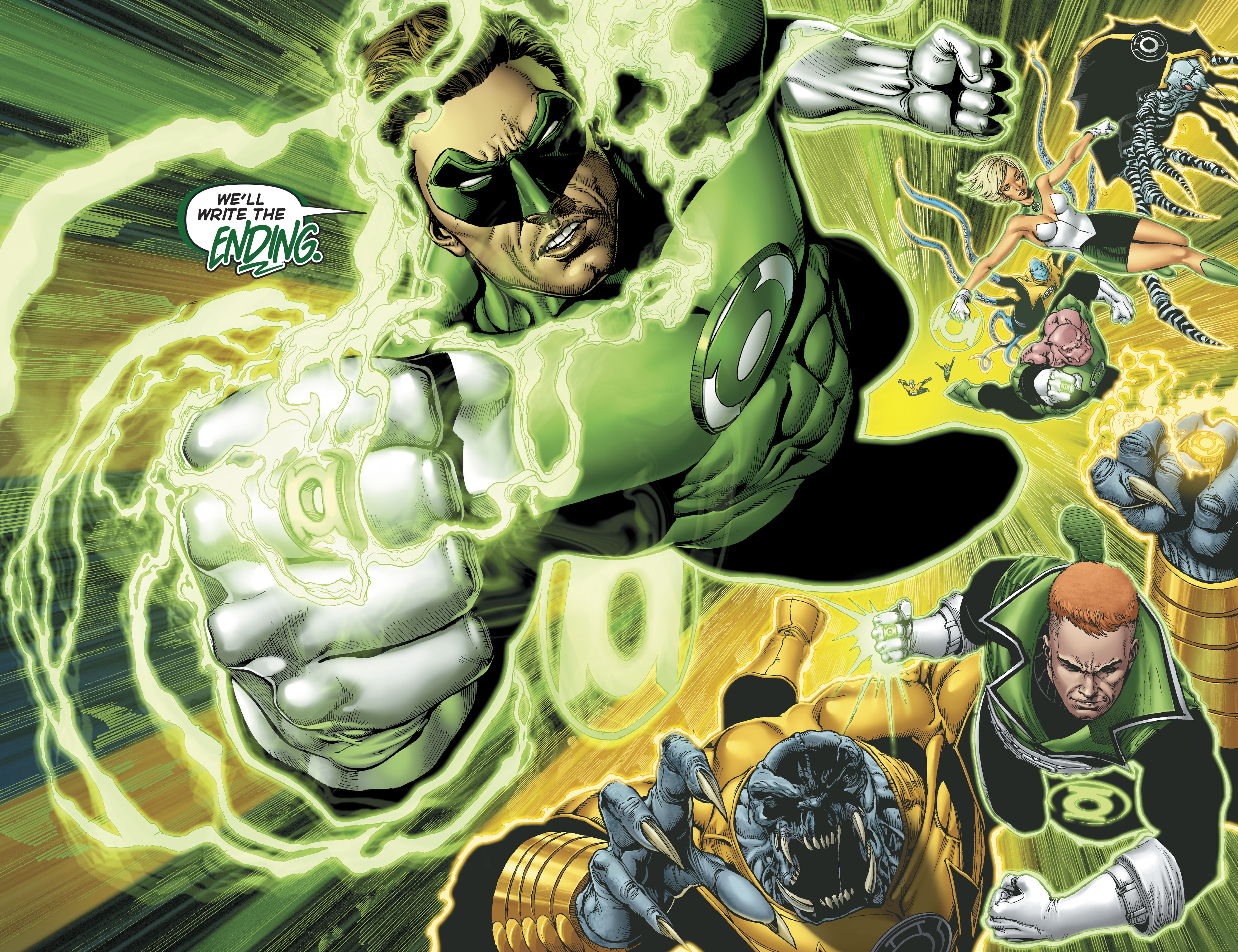 Read online Hal Jordan And The Green Lantern Corps comic -  Issue #22 - 11