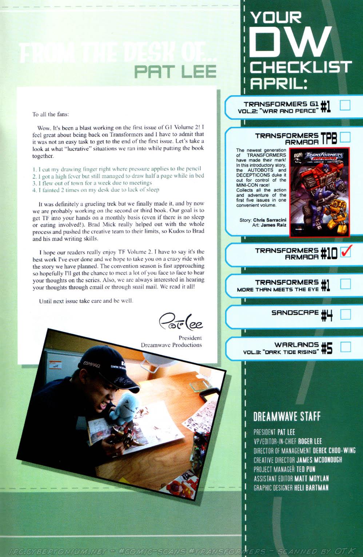 Read online Transformers Armada comic -  Issue #10 - 32