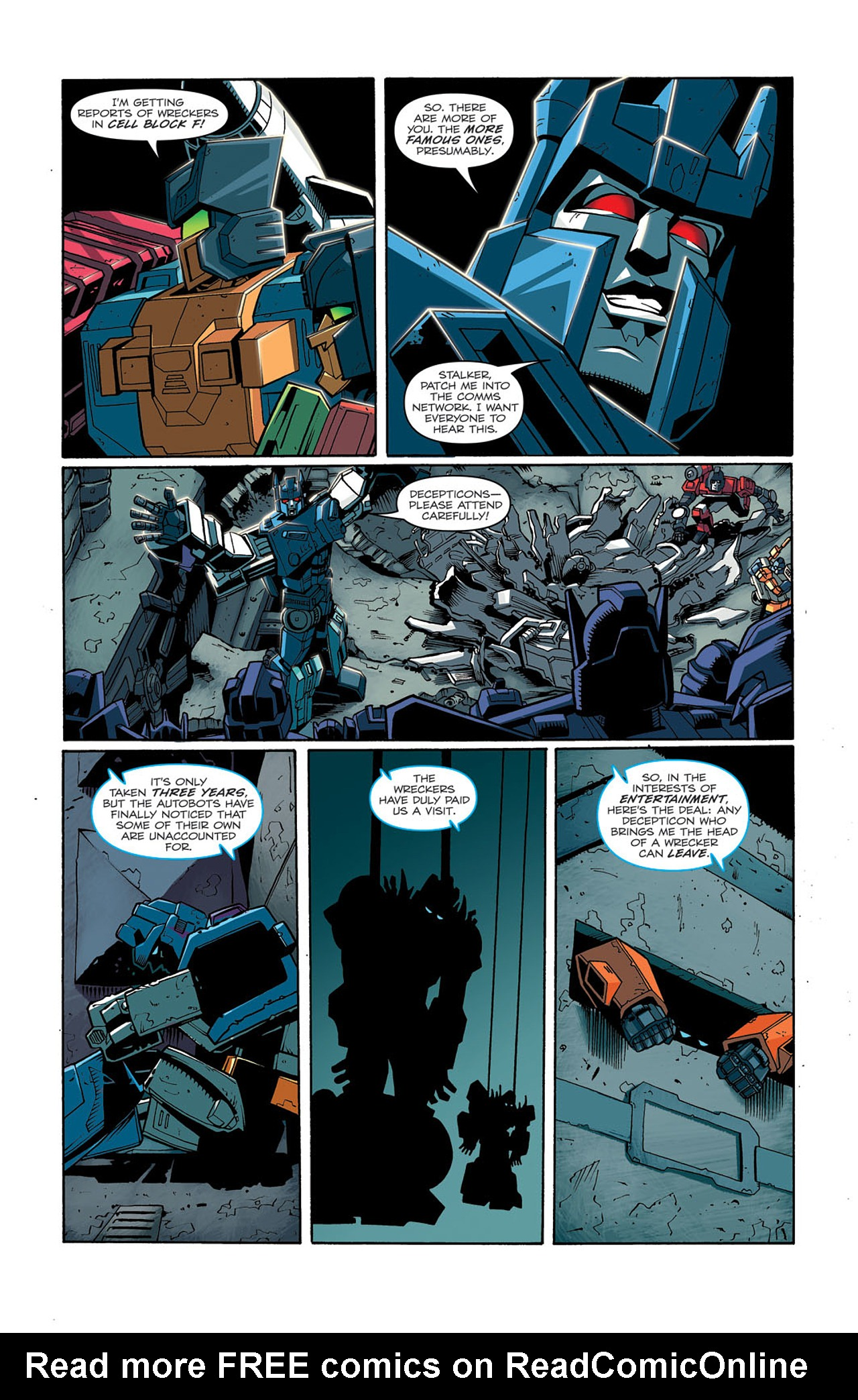 Read online Transformers: Last Stand of The Wreckers comic -  Issue #3 - 17