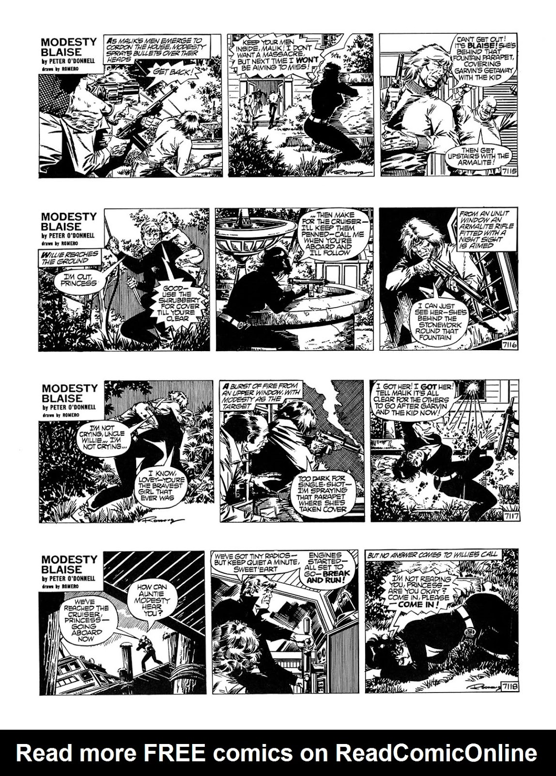 Read online Modesty Blaise Live bait comic -  Issue # TPB - 26