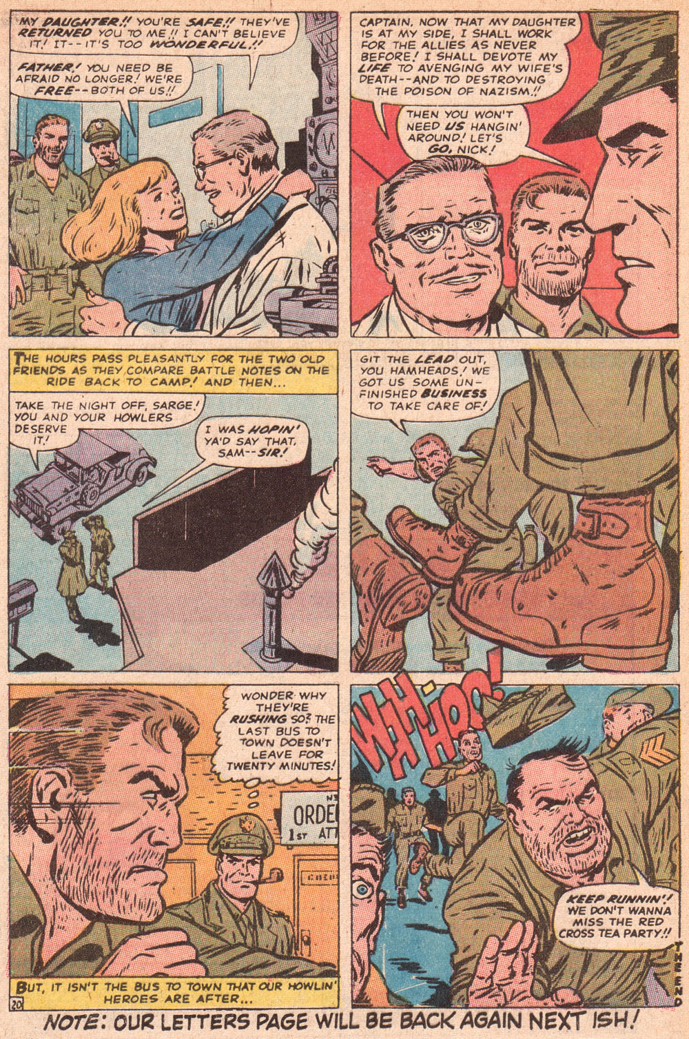 Read online Sgt. Fury comic -  Issue #80 - 32