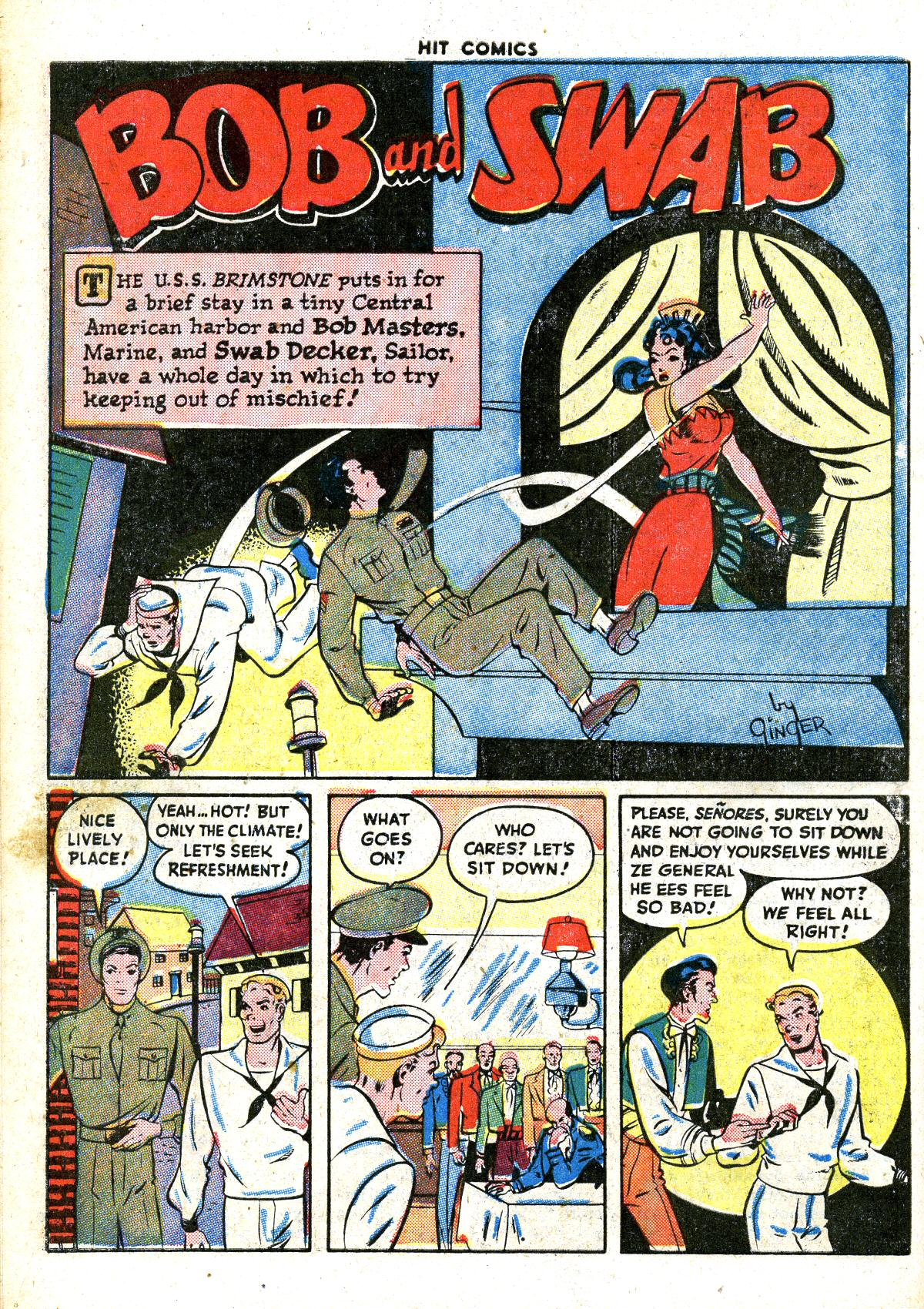 Read online Hit Comics comic -  Issue #41 - 46