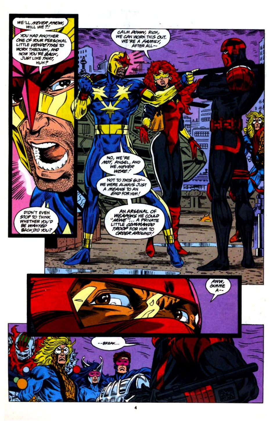 The New Warriors Issue #57 #61 - English 5