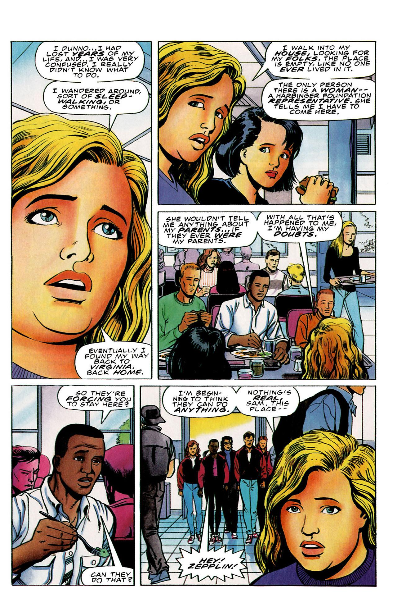 Read online Harbinger (1992) comic -  Issue #26 - 17