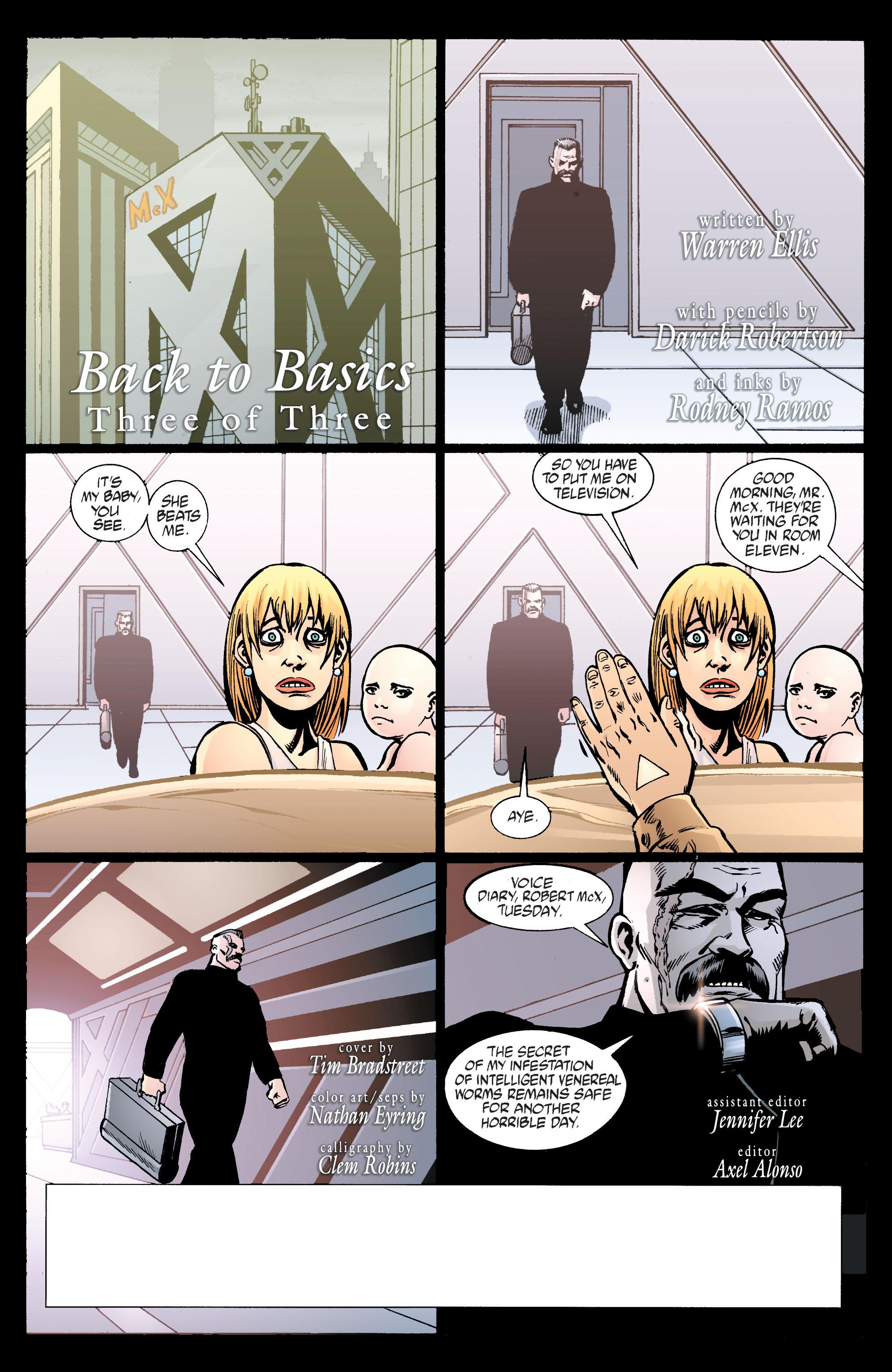 Read online Transmetropolitan comic -  Issue #39 - 2