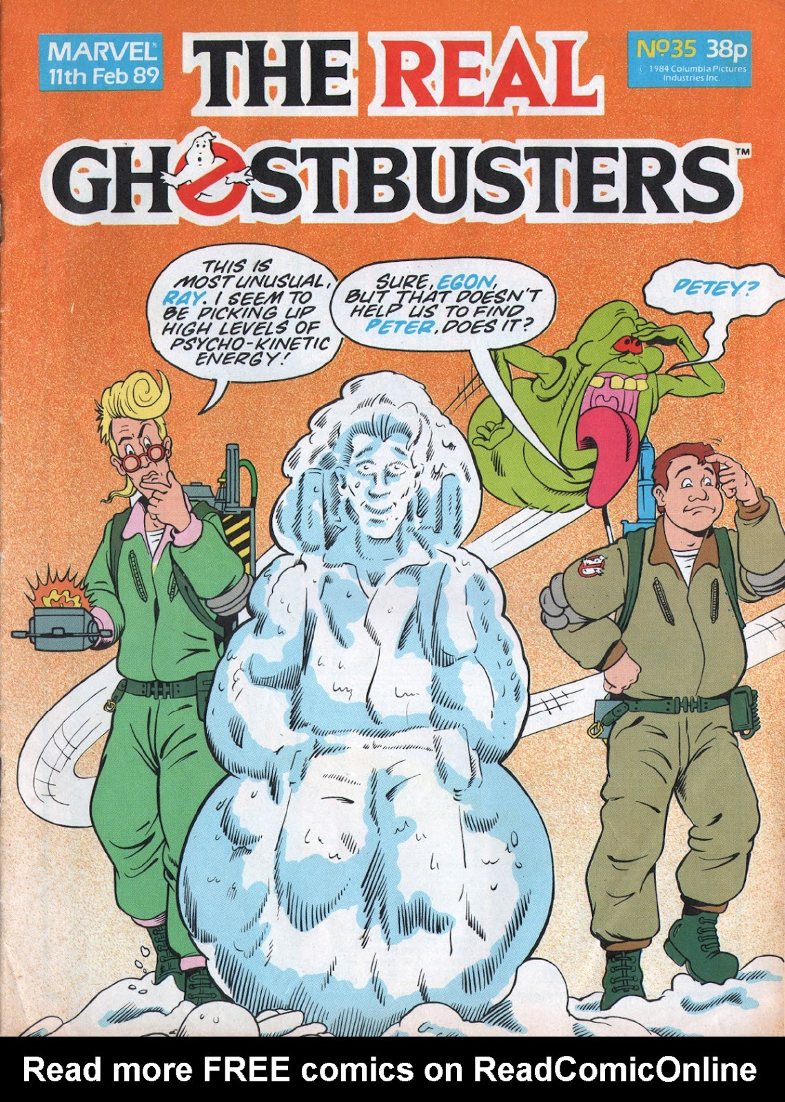 The Real Ghostbusters 35 Page 1