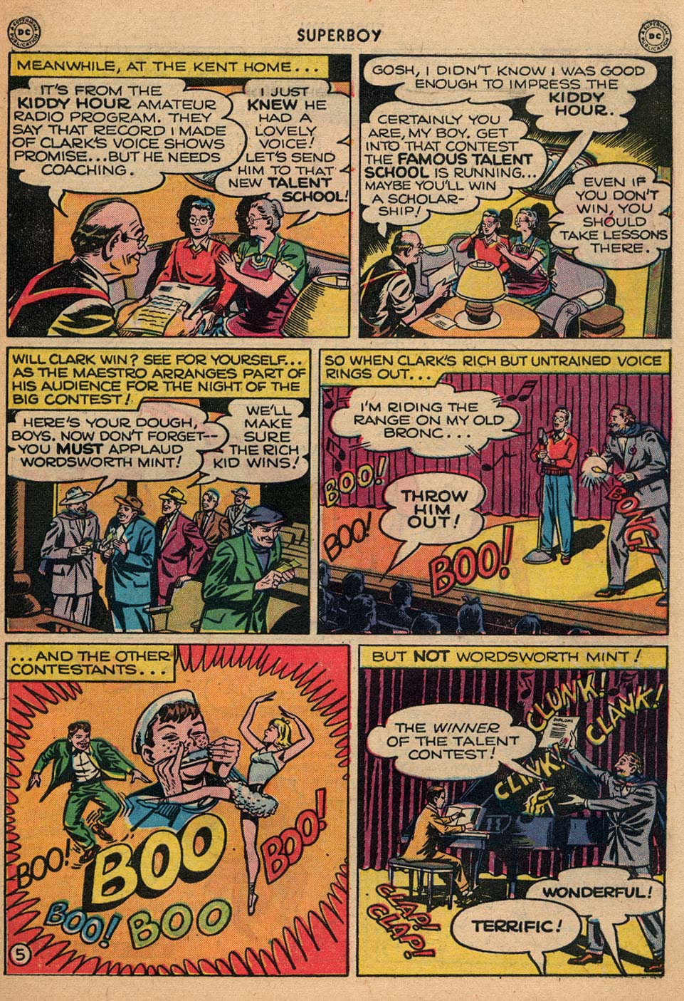 Superboy (1949) issue 3 - Page 32