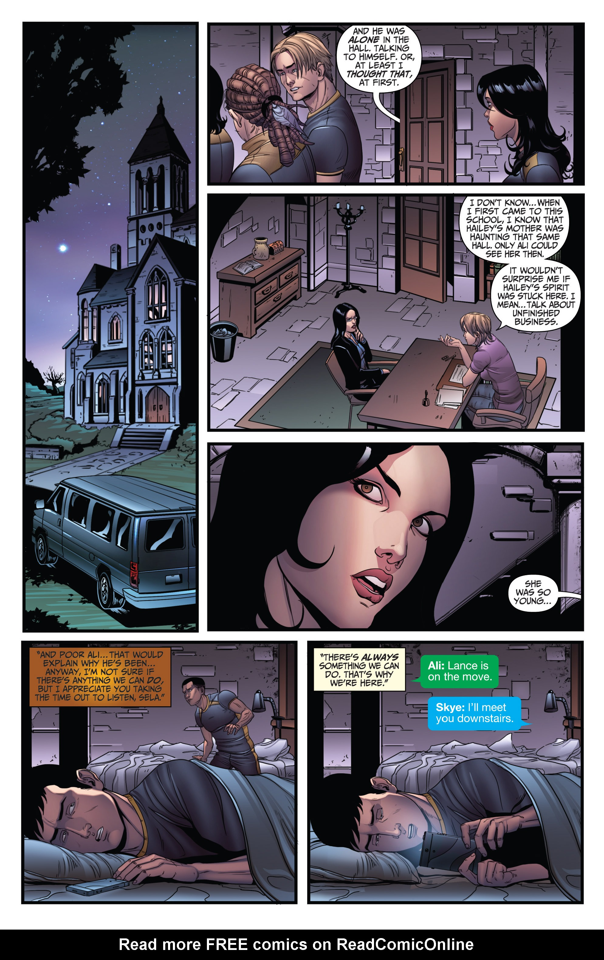 Read online Grimm Fairy Tales: Arcane Acre comic -  Issue # TPB 3 - 67