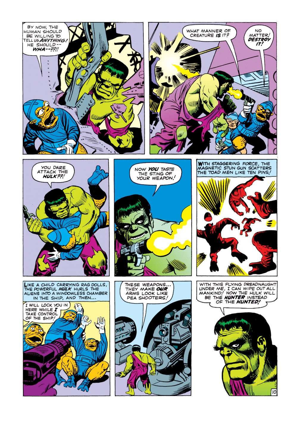 Read online Marvel Masterworks: The Incredible Hulk comic -  Issue # TPB 1 (Part 1) - 38