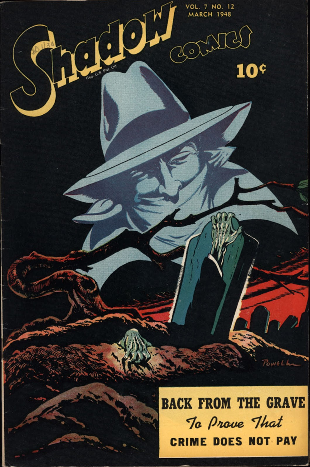 Shadow Comics 84 Page 1