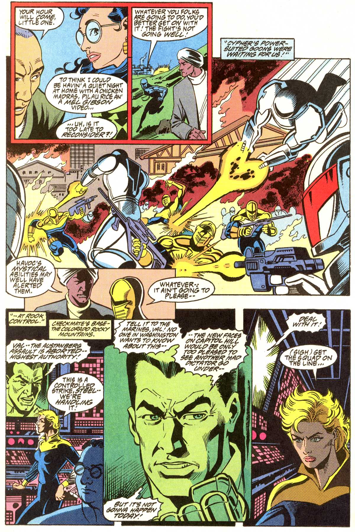 Read online Peter Cannon--Thunderbolt (1992) comic -  Issue #11 - 17