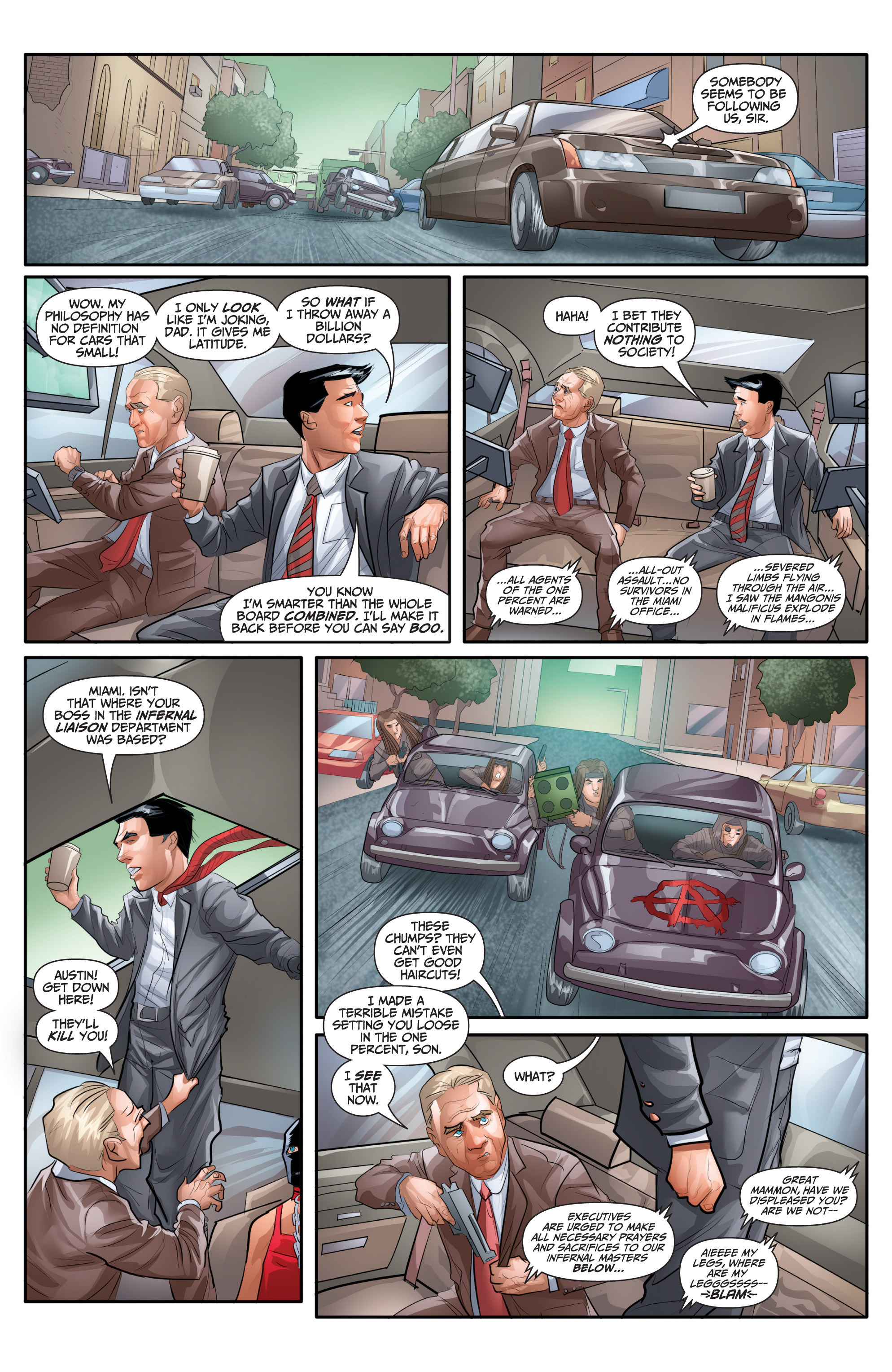 Read online Archer and Armstrong comic -  Issue #Archer and Armstrong _TPB 7 - 64