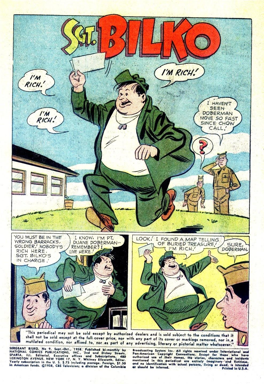 Sergeant Bilko issue 9 - Page 3