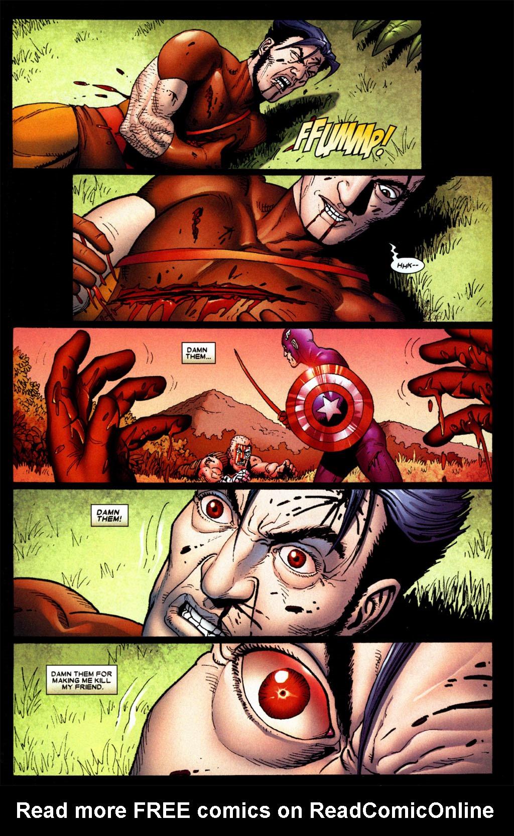 Read online Wolverine: Origins comic -  Issue #4 - 21