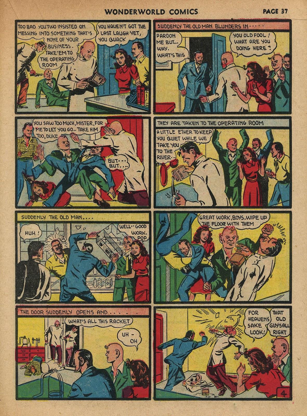 Wonderworld Comics issue 23 - Page 38
