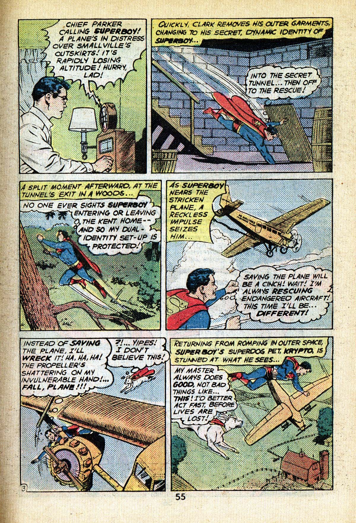 Read online Adventure Comics (1938) comic -  Issue #495 - 55