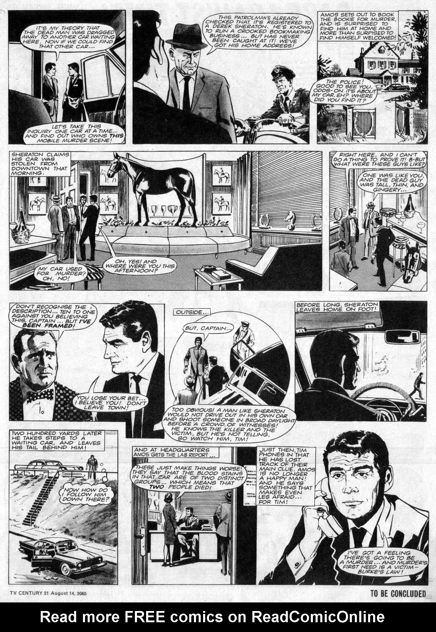 Read online TV Century 21 (TV 21) comic -  Issue #30 - 3