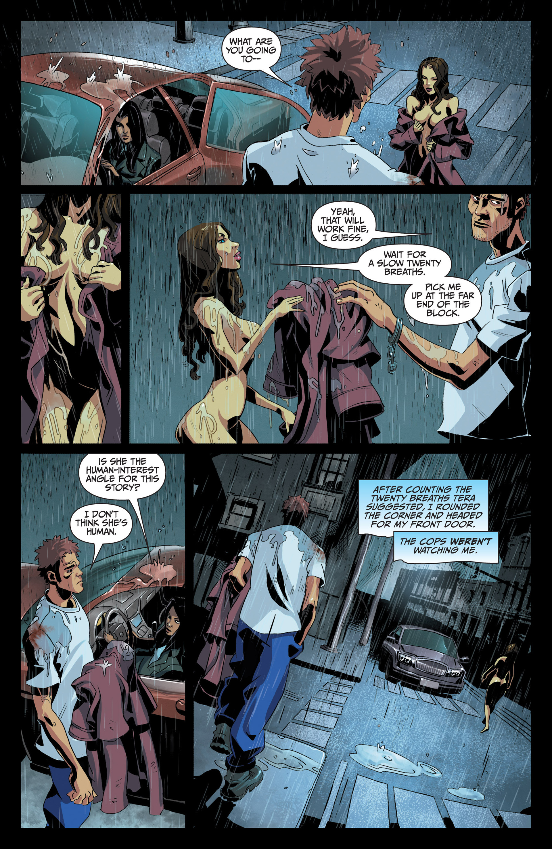 Read online Jim Butcher's The Dresden Files: Fool Moon comic -  Issue #5 - 4