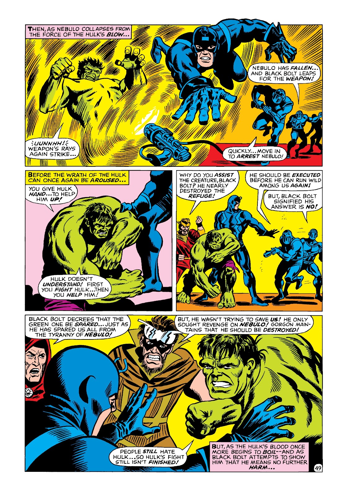 Read online Marvel Masterworks: The Incredible Hulk comic -  Issue # TPB 4 (Part 2) - 82