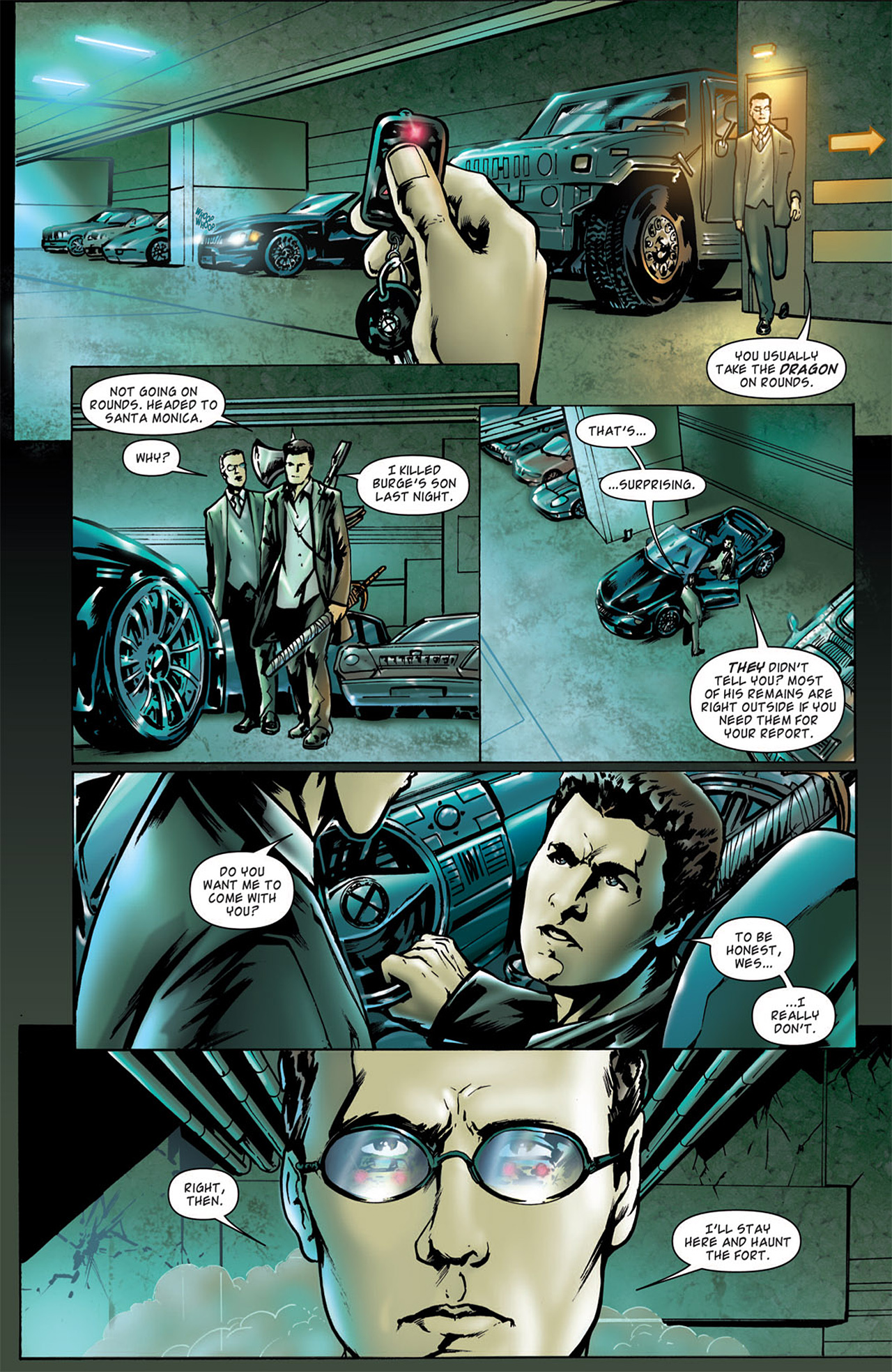 Read online Angel: After The Fall comic -  Issue #2 - 4
