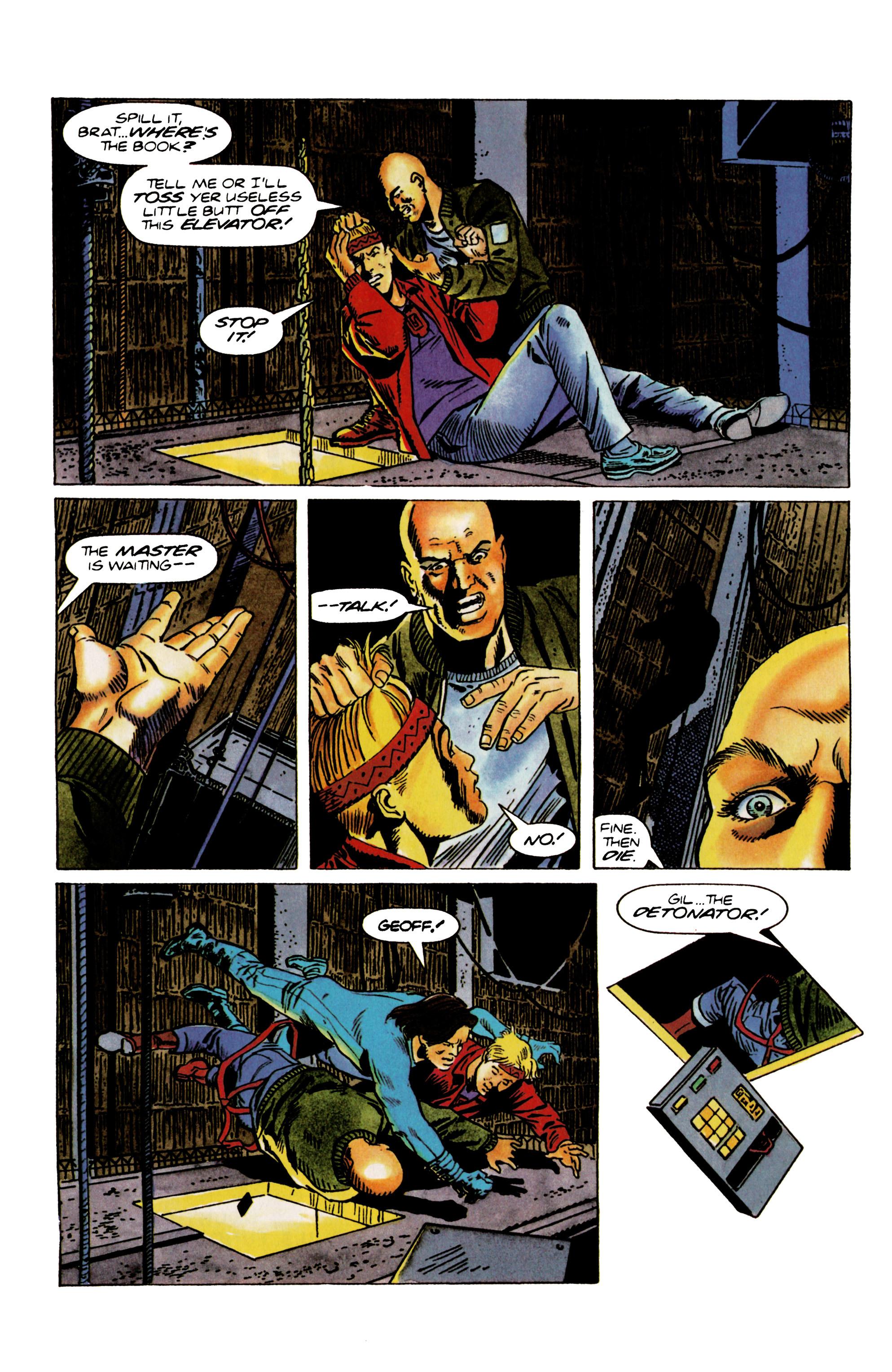 Read online Eternal Warrior (1992) comic -  Issue #22 - 20