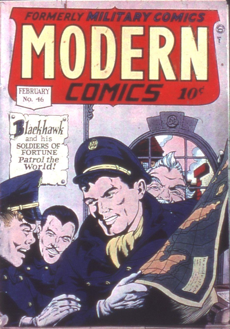 Modern Comics 46 Page 1