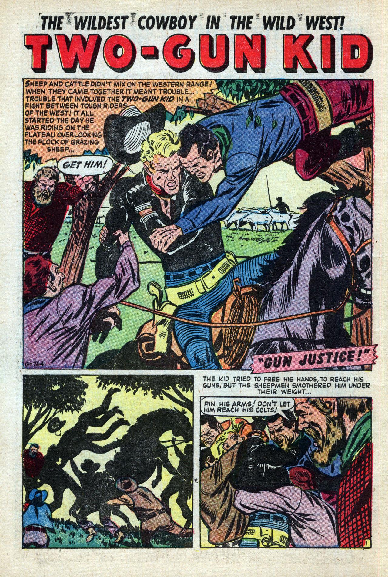Read online Two-Gun Kid comic -  Issue #27 - 10